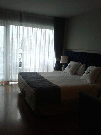 Sileo Hotel: Quarto quentinho e aconchegante