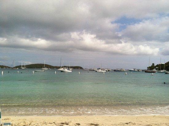 Elysian Beach Resort: View from beach