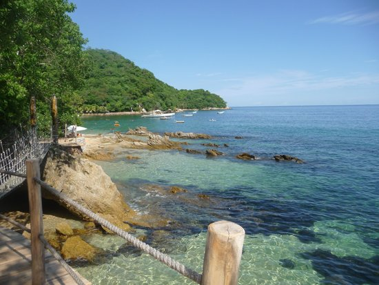 Vallarta Adventures - Las Caletas Beach Hideaway: A view from a pretty secluded area
