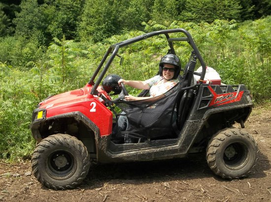 Northeast Snowmobile and ATV Rentals : View while riding...