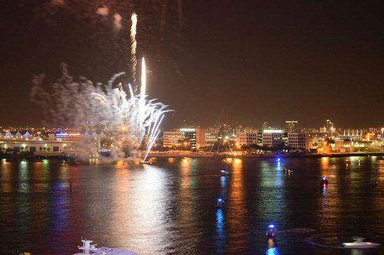 InterContinental Miami: Feuerwerk am 4. Juli