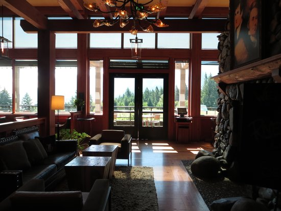 Skamania Lodge: cafe