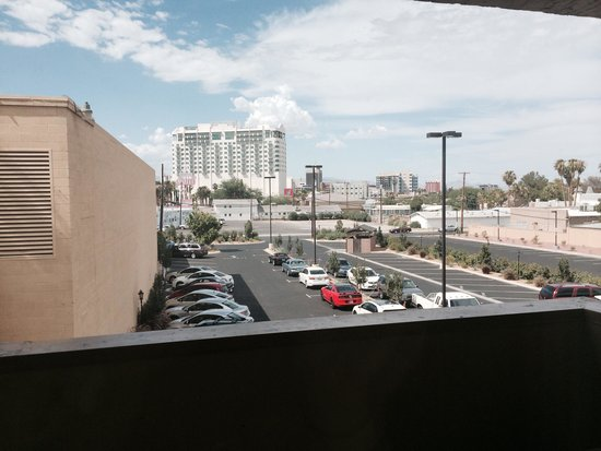 Super 8 Las Vegas North Strip /Fremont Street Area: View from balcony