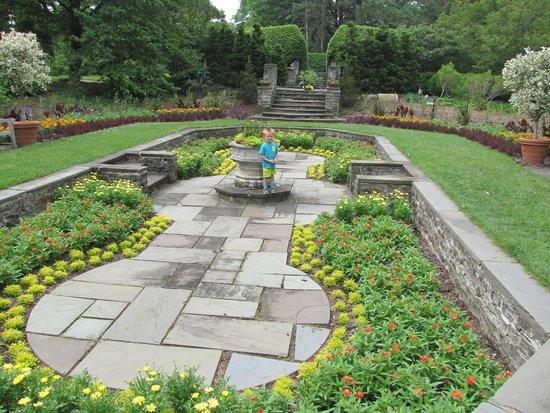 Kingwood Center Gardens: One of the many gardens.