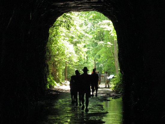 Stumphouse Mountain Tunnel: From the inside out