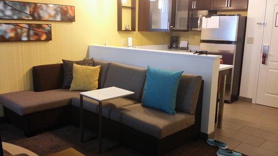 Residence Inn Youngstown Warren/Niles: King studio