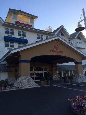 Sheraton Sonoma County - Petaluma : Front of hotel, inviting