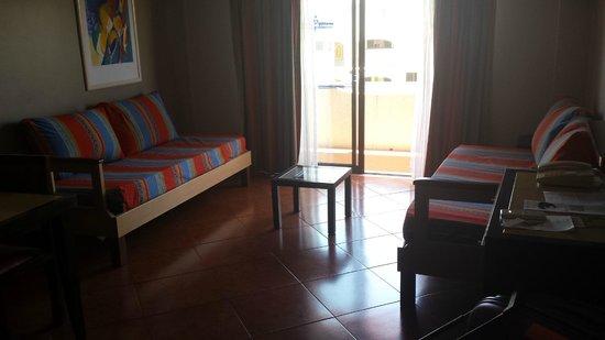 Hotel Paraíso de Albufeira: Living area
