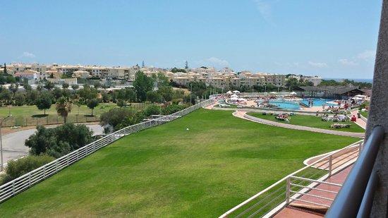 Hotel Paraíso de Albufeira: View from the balcony