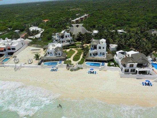 All villas of Hacienda Del Secreto