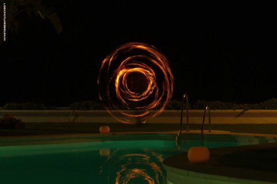 IBEROSTAR Marbella Coral Beach: Fire Show -