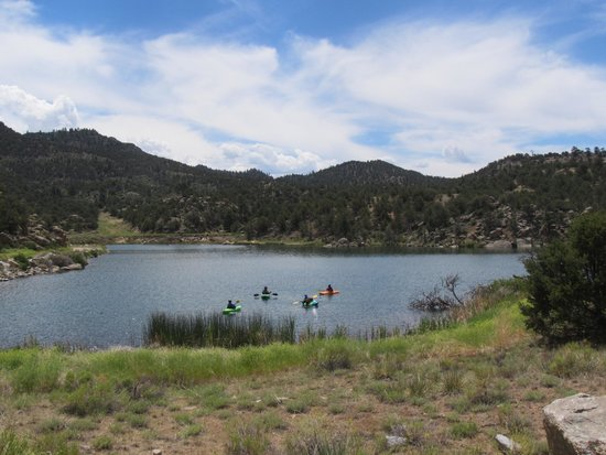 Bill Dvorak Rafting and Kayak Expeditions: Day one, lake practice