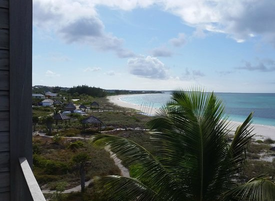 Gansevoort Turks + Caicos: View from balcony ocean suite