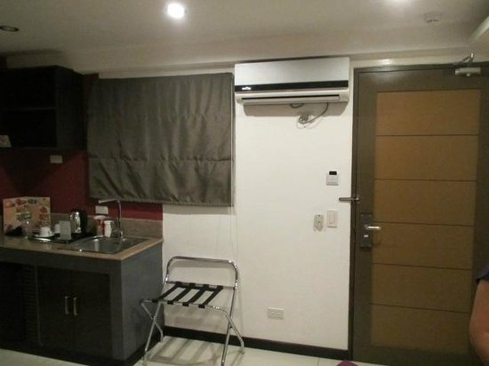Guijo Suites Makati: view from lounge chair