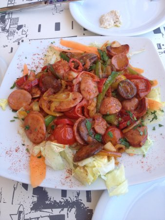 Strogili Restaurant: Lava Sausages