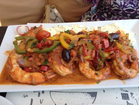 Strogili Restaurant: Kind Prawns