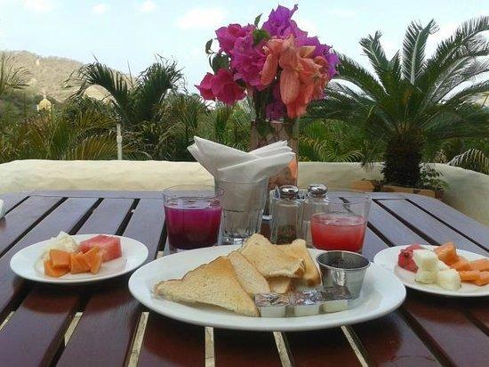 Pelican Eyes Resort and Spa : Para iniciar el dia.. ;)