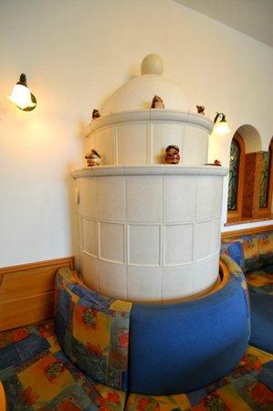 Hotel Antica Croce: La sala del bar