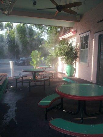 Bien: Outdoor Tables & Misters