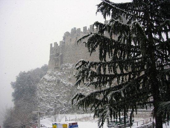 Hotel Antica Croce: Castello dalle camere