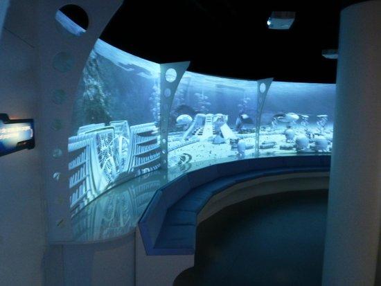 """Aquarium Planet Ocean: On frôle le parc d'attractions à """"thème"""" mais pas la frénésie au niveau des aquariums"""
