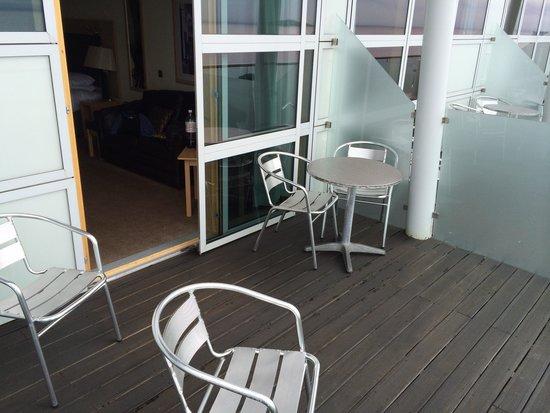 Bay Hotel: Balcony