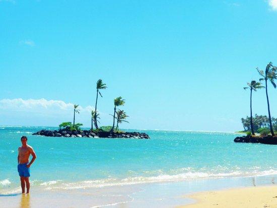 The Kahala Hotel & Resort : plage de l'hotel