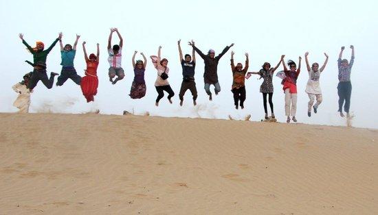 Mystic Jaisalmer Hotel: In Desert Safari!