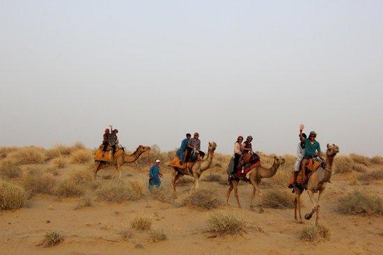 Mystic Jaisalmer Hotel: Camel Safari