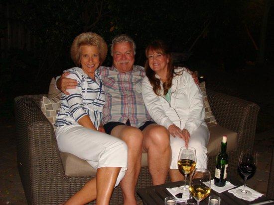 Inn on Randolph : Evening on the patio!