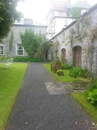 """Ross Castle: """"stables"""" rooms from courtyard"""
