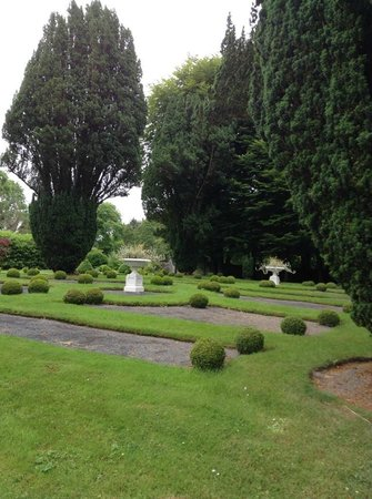 Part of the Gardens on the grounds of Ross Castle
