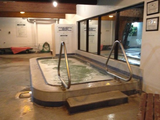 The Shawnee Inn and Golf Resort: Indoor Hot Tub