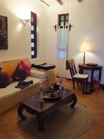 Kasha Boutique Luxury Hotel : Sitting area.