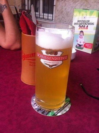 Schwedenscheuer: and bier of course