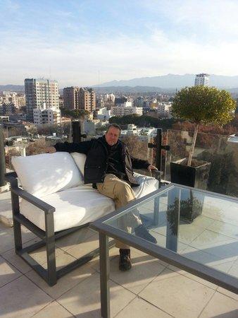 Premium Tower Suites Mendoza: Hermosa la vista de la terraza