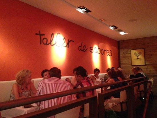 Casa 9 Restaurante: Interior