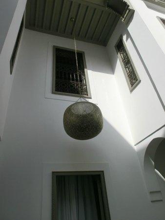 Riad Snan13: courtyard