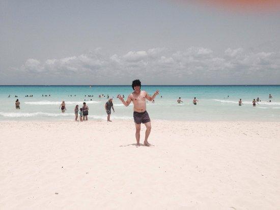 Sandos Playacar Beach Resort : En la playa más bella de sandos playacar