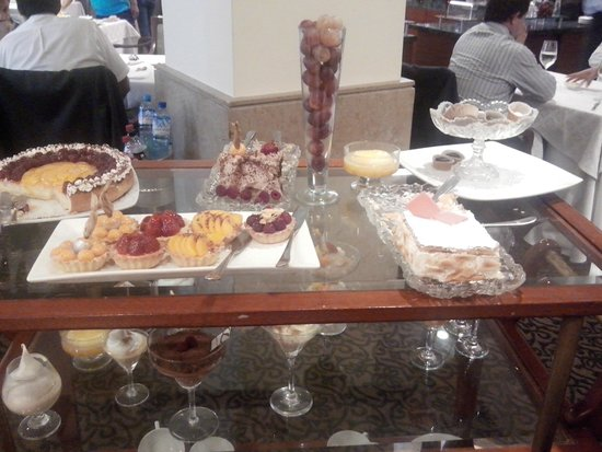 Sheraton Lima Hotel & Convention Center: Postres !