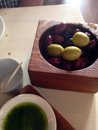 The Outsider Restaurant: Luscious olives
