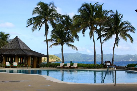 Peter Island Resort and Spa: Pool area