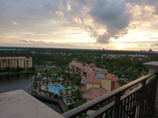 Wyndham Bonnet Creek Resort: Balcony View