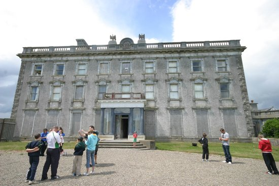 Front entrance of Loftus Hall