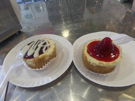 Eileen's Special Cheesecake: Não lembro os sabores... =/