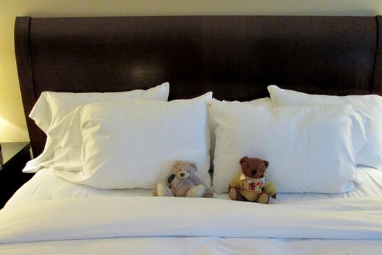 Doubletree by Hilton Hotel Tarrytown : Close up of my bed