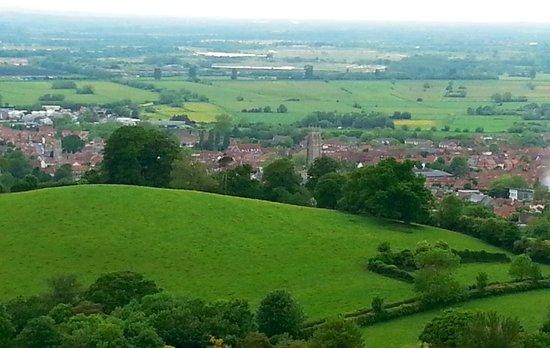 Glastonbury Tor: Panorama