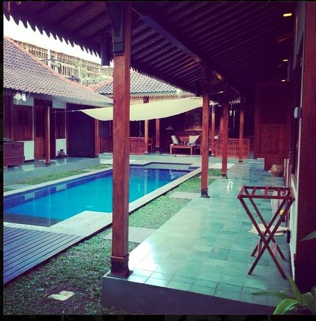 Villa Berawa : Our private pool