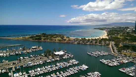 Hawaii Prince Hotel Waikiki: View from the room
