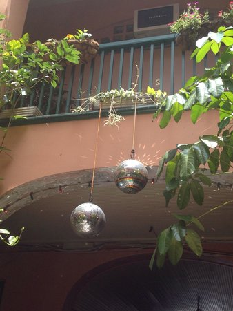 The Saint Philip Hotel: Who doesn't love accommodations that recognize the importance of a good disco ball?